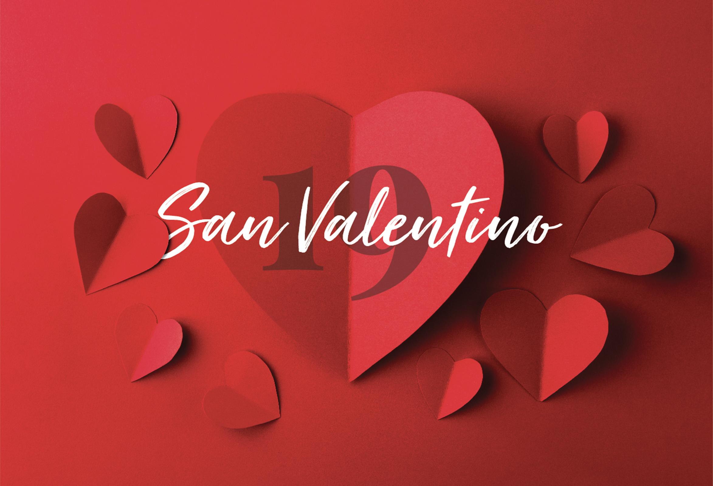 San Valentino 2019 all'Hotel dei Bizantini